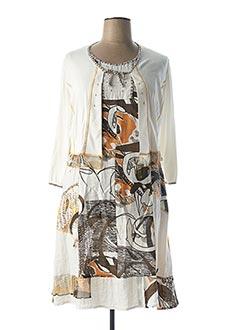 Veste/robe beige GUY DUBOUIS pour femme