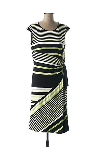 Robe mi-longue vert FRANK WALDER pour femme
