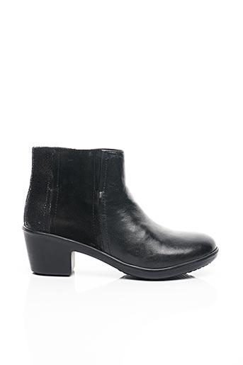 Bottines/Boots noir AYOKA pour femme