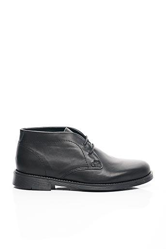 Bottines/Boots noir AYOKA pour homme