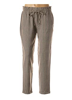 Pantalon casual beige EDC BY ESPRIT pour femme