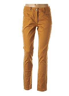 Pantalon casual jaune MADO ET LES AUTRES pour femme