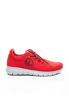 Baskets rouge GIESSWEIN pour femme