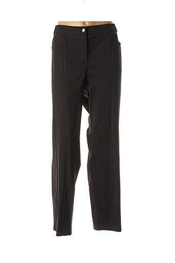 Pantalon 7/8 noir ADELINA BY SCHEITER pour femme