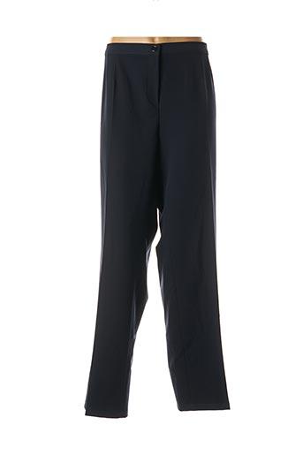 Pantalon chic bleu ELENA MIRO pour femme