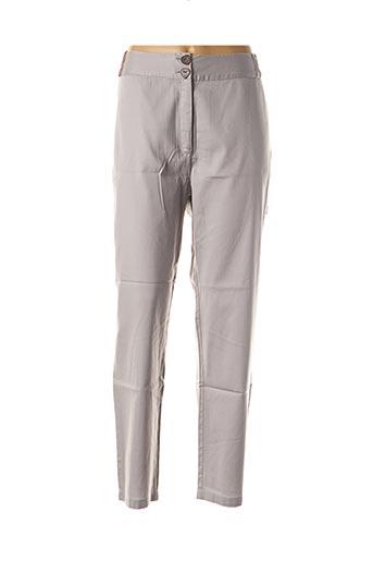 Pantalon casual gris ALL BEAUTIFUL pour femme