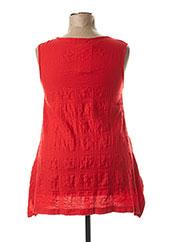 Top rouge G!OZE pour femme seconde vue