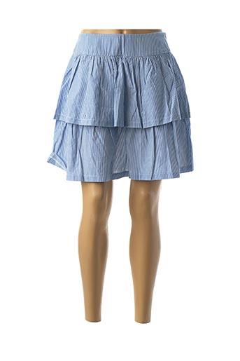 Jupe courte bleu NAF NAF pour femme