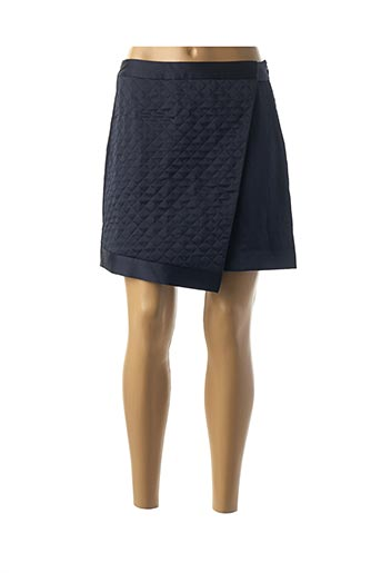Jupe courte bleu ZAPA pour femme