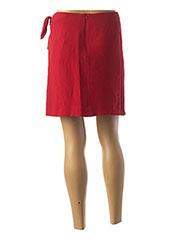 Jupe courte rouge TARA JARMON pour femme seconde vue