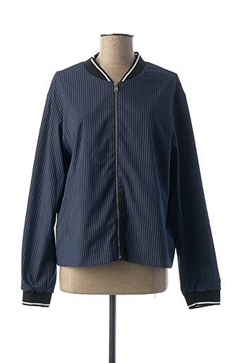 Veste casual bleu COP COPINE pour femme