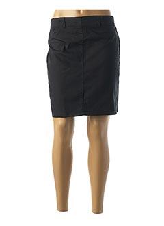 Jupe courte noir BALSAMIK pour femme