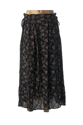 Jupe longue noir FRNCH pour femme