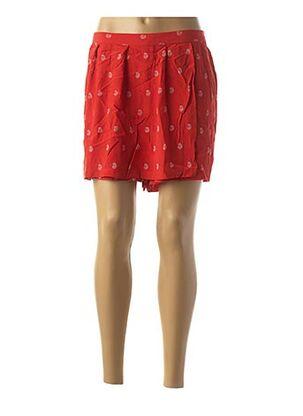 Jupe short rouge KARL MARC JOHN pour femme