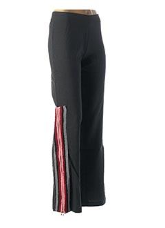 Pantalon casual gris CUSTO pour femme