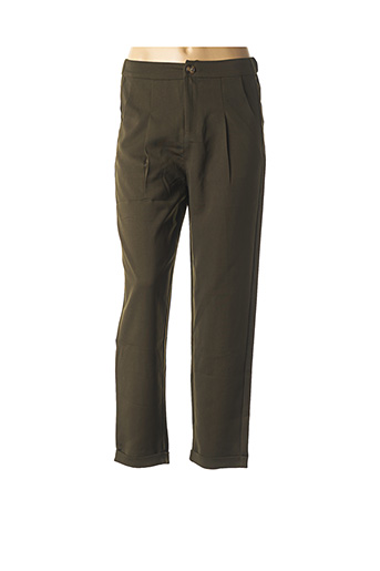 Pantalon chic vert COLLECTION IRL pour femme