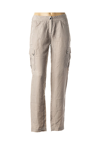 Pantalon casual beige ZAPA pour femme