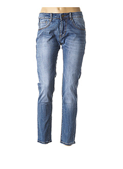 Jeans coupe slim bleu HOT BUTTERED pour homme