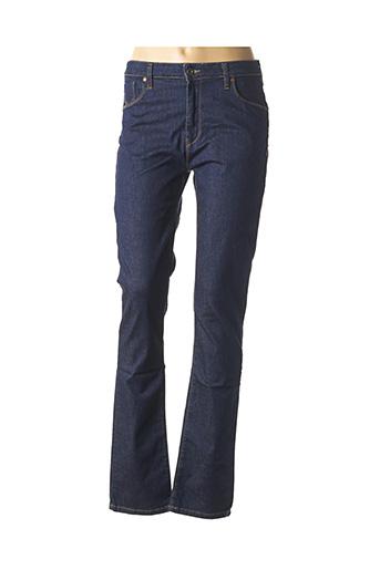 Jeans coupe droite bleu CARRERA pour femme