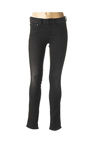 Jeans skinny noir G STAR pour femme
