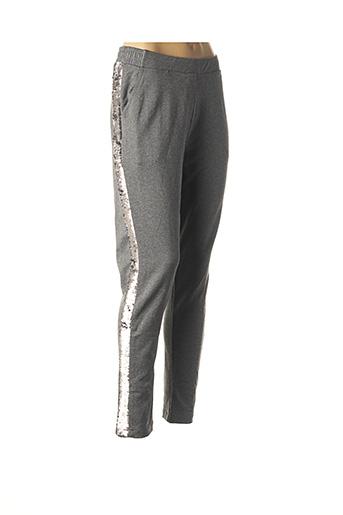 Pantalon 7/8 gris CARTOON pour femme