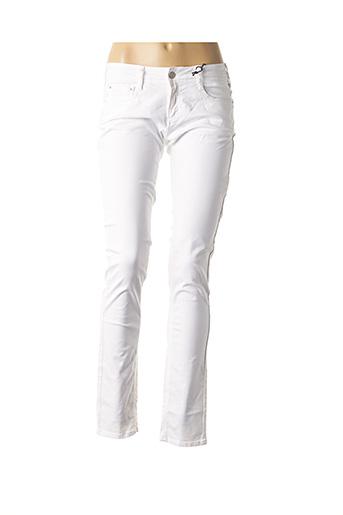 Pantalon casual blanc CIMARRON pour femme