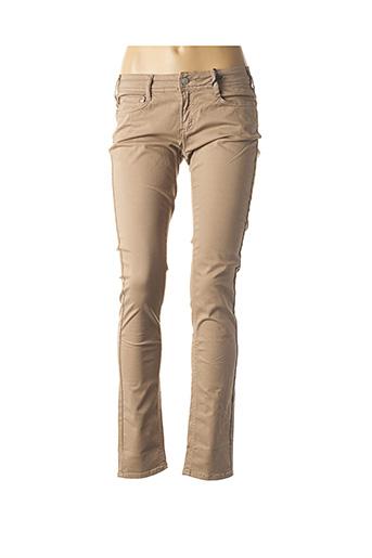 Pantalon casual marron CIMARRON pour femme