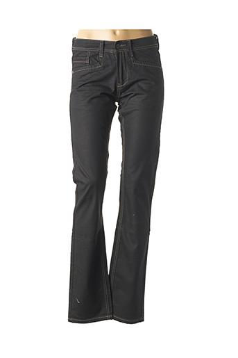 Pantalon casual noir CARNET DE VOL pour femme