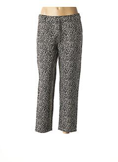 Pantalon 7/8 noir GARANCE pour femme