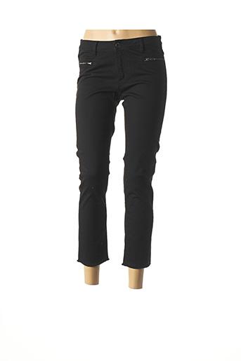 Pantalon 7/8 noir MAISON 123 pour femme
