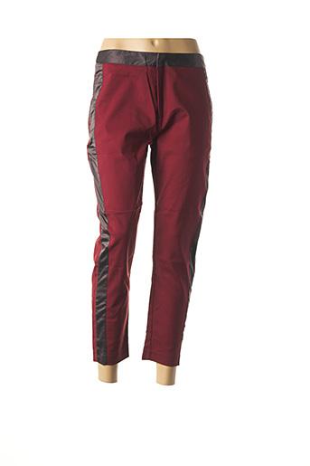 Pantalon 7/8 rouge COLLECTION IRL pour femme