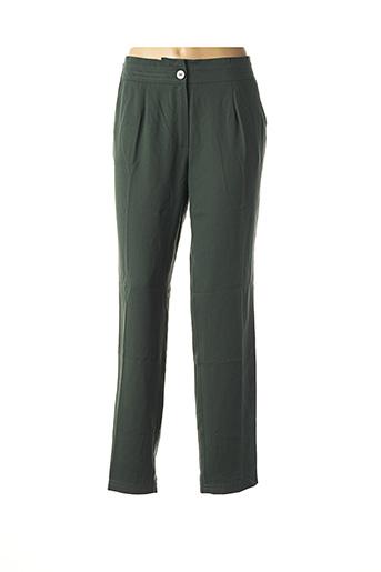 Pantalon chic vert MAISON 123 pour femme
