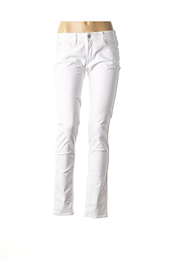 Pantalon casual blanc CIMARRON JUNIOR pour femme