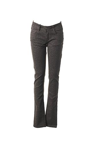 Pantalon casual gris CIMARRON pour femme