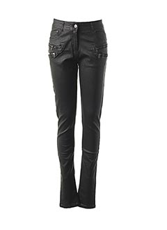 Jeans skinny noir FRENCH CODE pour femme