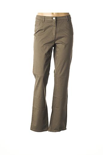 Pantalon casual marron BURTON pour femme