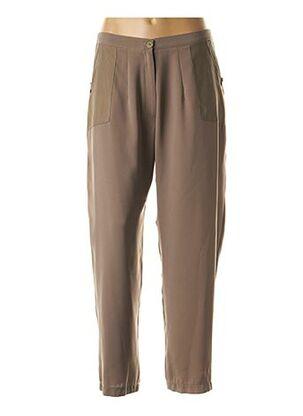 Pantalon casual marron ALAIN MURATI pour femme