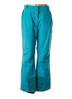 Pantalon casual bleu EIDER pour femme