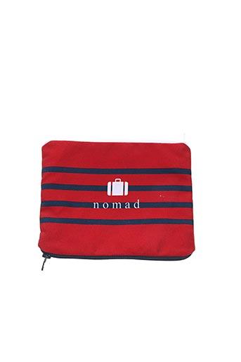 Pochette rouge DANDY NOMAD pour femme