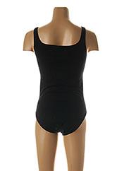 Body lingerie noir WOLFORD pour femme seconde vue