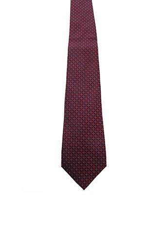 Cravate rouge VAN LAACK pour homme