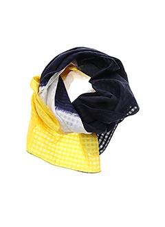 Foulard jaune DENOVEMBRE pour femme