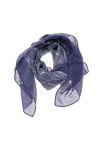 Foulard bleu AN-NEE pour femme