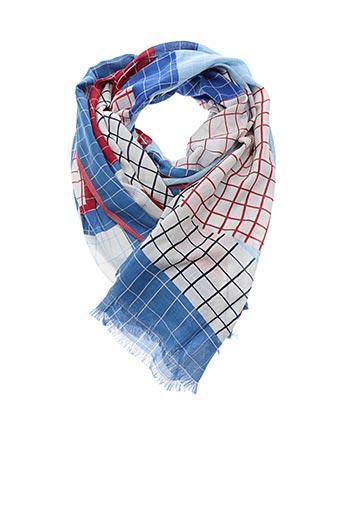 Foulard bleu INOUI TOOSH pour femme