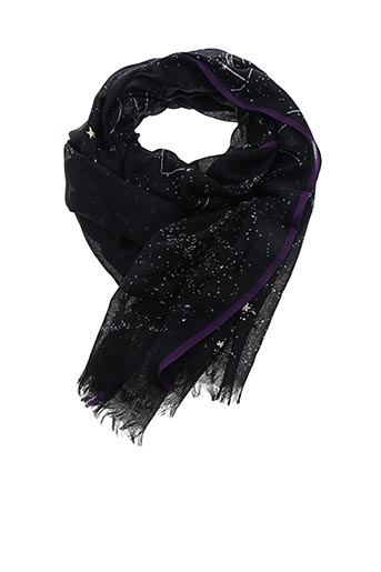 Foulard noir INOUI TOOSH pour femme