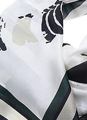 Foulard blanc BY MALENE BIRGER pour femme seconde vue