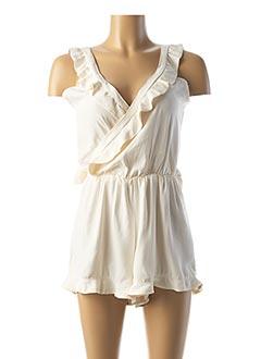 Robe de mariée beige L'AMUSÉE pour femme