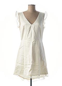 Robe de mariée beige MAISON LEMOINE pour femme