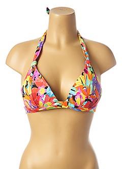 Haut de maillot de bain violet BANANA MOON pour femme