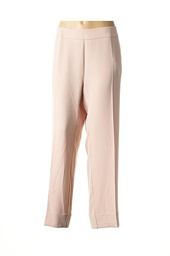 Pantalon 7/8 beige MARIA BELLENTANI pour femme
